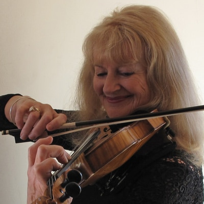 Margarita Jackson, violin teacher, Nelson
